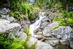 Vodopády a kaskády Studeného potoka