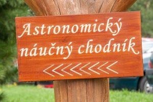 Astronomický náučný chodník