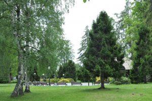 Mestský park v Tatranskej Lomnici