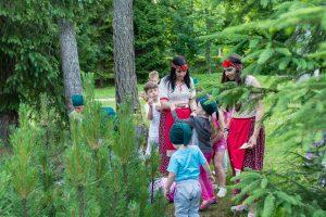Park s náučným chodníkom Spevavce tatranské