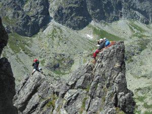 Horolezecká cesta VELICKÝ ZUB
