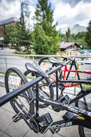 Galfy, Požičovňa bicyklov Štrbské pleso