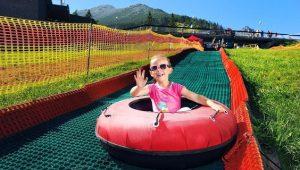 Letný tubing